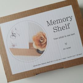 Memory shelf - Voor altijd in ons hart