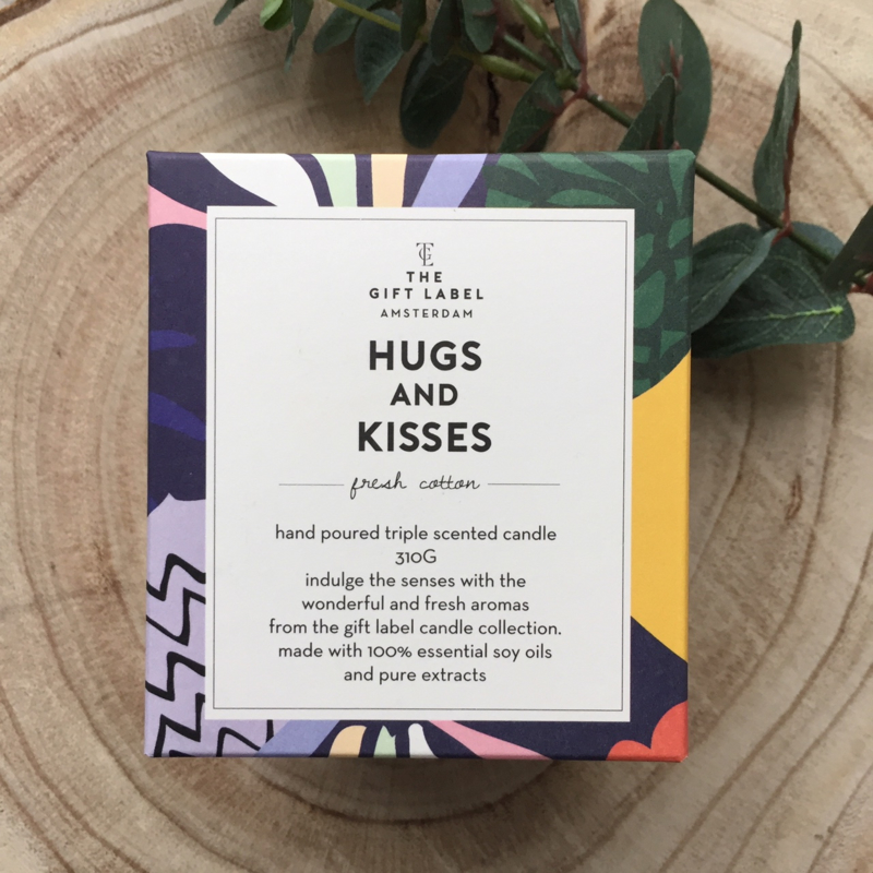 Geurkaars - Hugs & Kisses