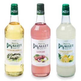 sodamaker voordeelpakket Vlierbloesem, Lychee & Citron Jinot - 3 x 100cl