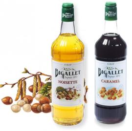 koffiesiroop voordeelpakket Hazelnoot & Caramel - 2 x 100cl