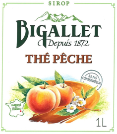 Thé Pêche (Perzikthee) - 100cl