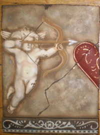 Cupido left (24 x 31,5 cm)