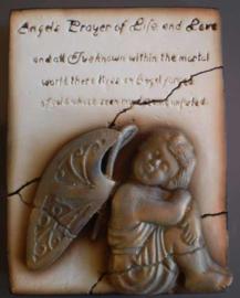 Forgotten cherub (ca 16 x 20 cm)