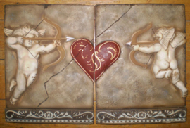 Cupido duo XL ( 2x ca 24 x 31.5 cm)