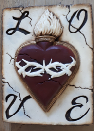 Heart ( ca 16 x 20 cm)