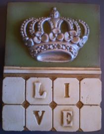 Live crown (ca 16 x 20 cm)