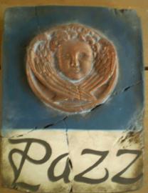 Pazz/ vrede (ca 16 x 20 cm)