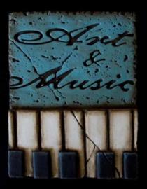 Art & Music (ca 16 x 20 cm)