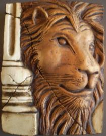 Lion (ca 16 x 20 cm)
