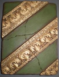 Paralel Green (ca 16 x 20 cm)