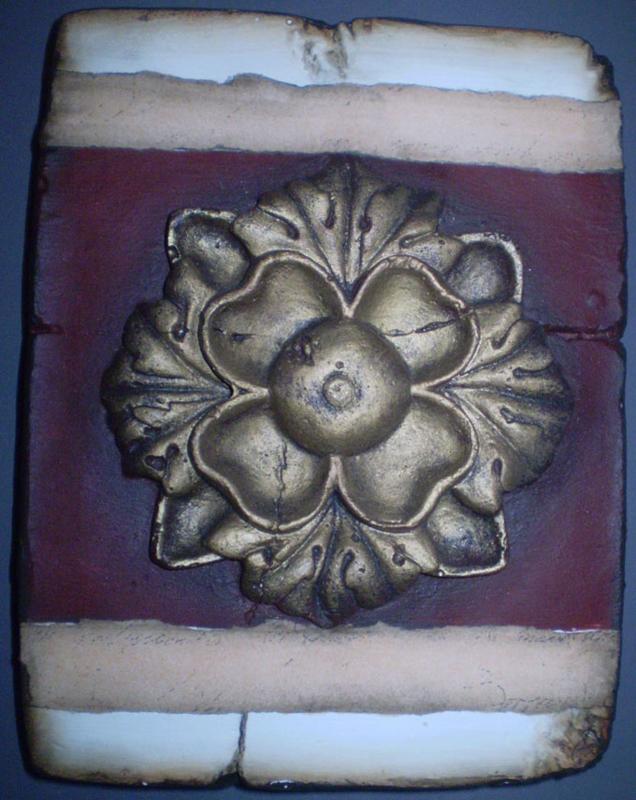 Greec Rozette (ca 16 x 20 cm)