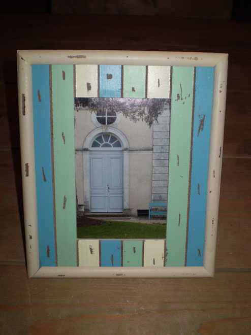 Picture frame scrap wood