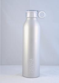 Waterfles Y & A (zilver)