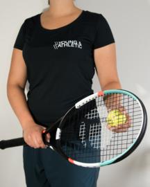 Y & A sportshirt vrouw (zwart)