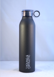 Waterbottle Y & A (black)