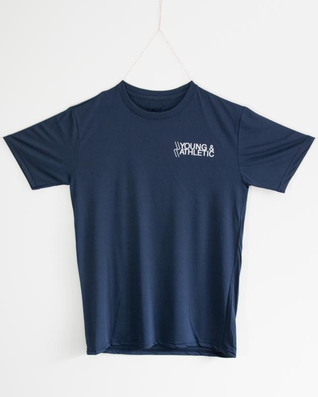 Y & A sportshirt Man (navy blauw)