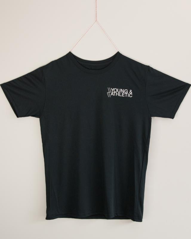 Y & A sportshirt Mens (black)
