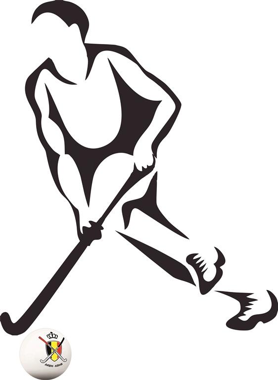Muursticker hockey Heren 1