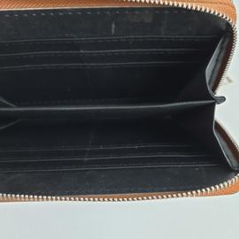 grote portemonnee met panterprint