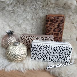 grote portemonnee cheetah print