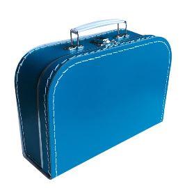 Kinderkoffertje petrol 25cm