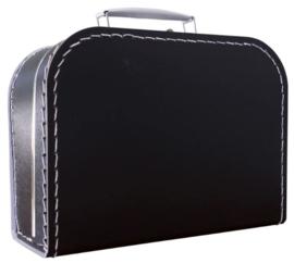 Kinderkoffertje zwart  25cm