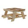 Picknicktafeltje hout