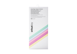 Cricut Smart Sticker Cardstock Pastels Sampler (10st)