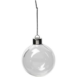 Kerstballen glas 8st