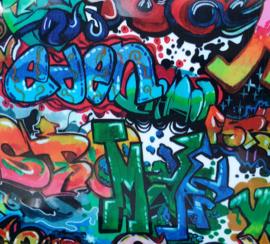 Flex graffiti print 20x24,5cm
