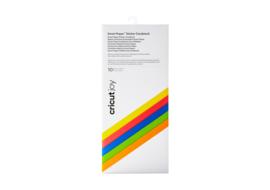 Cricut Smart Sticker Cardstock Brightbow Sampler (10st)
