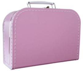 Kinderkoffertje roze 25cm