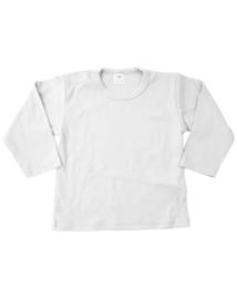 Shirt, lange mouw, wit