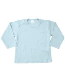 Shirt, lange mouw, lichtblauw