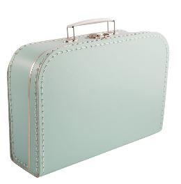 Kinderkoffertje mintgroen 25cm