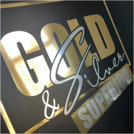 Superior metallic goud 30,5 x 100cm