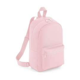 Mini essential fashion backpack roze