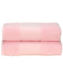 Handdoek roze 70x140cm