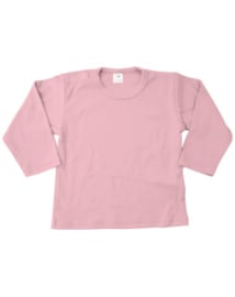 Shirt, lange mouw, roze