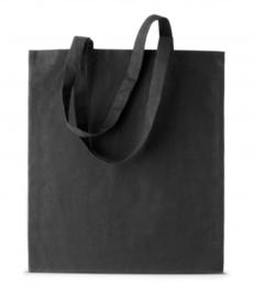 Shopper met hengsels zwart