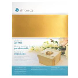 Printbare gouden stickervellen
