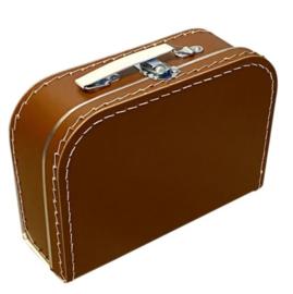 Kinderkoffertje roestbruin 25cm