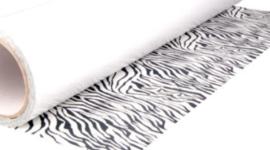 Flex zebra print 30x50cm