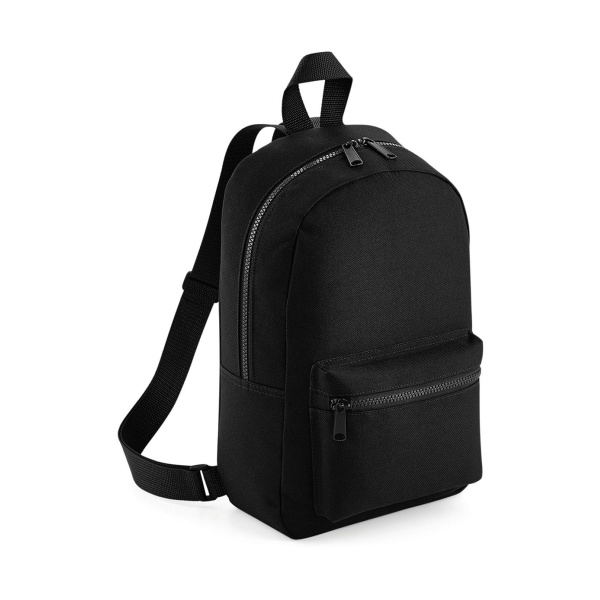 Mini essential fashion backpack black