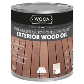 WOCA Exterior Oil Wit 0,75 L