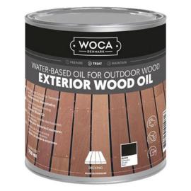 WOCA Exterior Oil Zwart 0,75 L