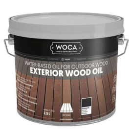 WOCA Exterior Oil Anthraciet 2,5 L