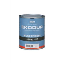 Ekodur 1K schildersverf RAL 9005 mat 1 L