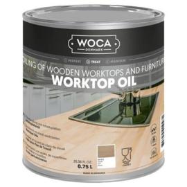 WOCA Werkbladenolie wit 750 ml