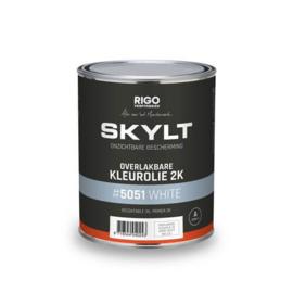 Skylt Overlakbare Kleurolie 2K White #5051 1L